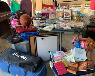 Arts and Crafts, Adult and Children's Patterns, Athletic and outdoor gear. Books and Devotionals.