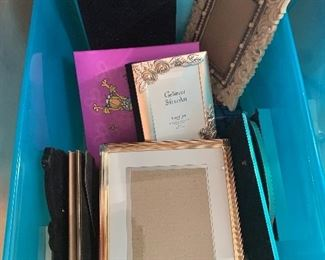 Photo frames and photo books.