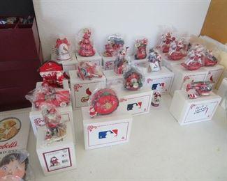 Danbury Mint St. Louis Cardinals Ornaments