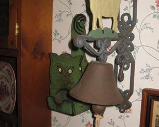 Iron sheep farmhouse bell