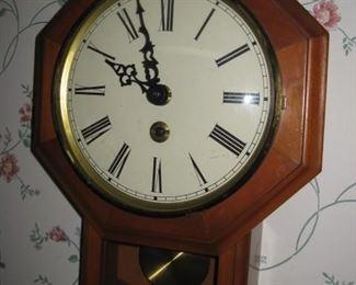 Wall clock key wind