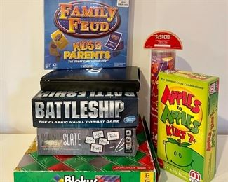 Item 5:  Lot of assorted games including Family Feud:  $36