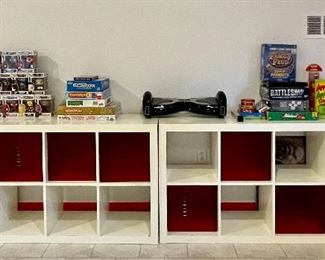 """Item 12:  Shelving Units - We have 4! - 58.75""""l x 15.5""""w x 31.25""""h:  $ 165 each (2 are SOLD)"""