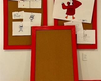 """Item 21:  (3) Bulletin Boards - 26"""" x 38"""":  $14/Each (2 are SOLD)"""