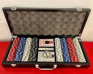 Item 24:  Poker Chip Set:  $35