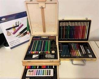 Item 30:  Lot of Assorted Art Supplies (new in box): $30