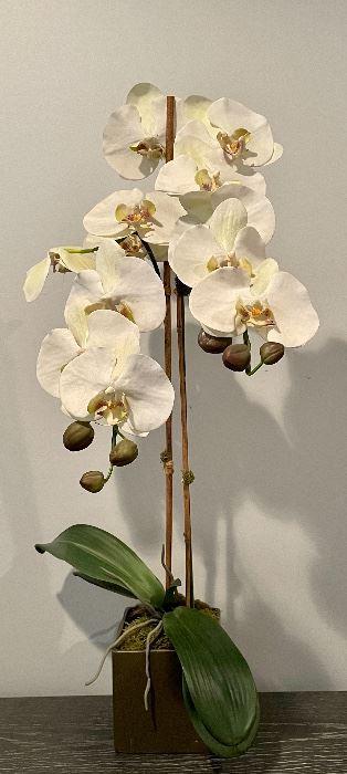 """Item 39:  Faux Orchid - 30"""":  $34"""