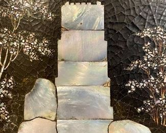 detail - Mother of Pearl Inlay