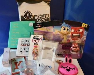 Assorted brand new giftables!  Make an appointment today!  Link in the details & description section.