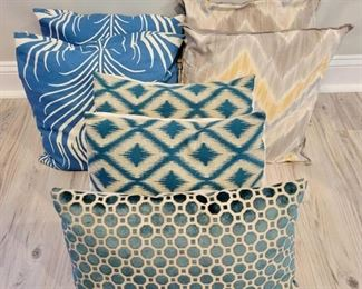We have many decorative pillows at this sale!  Make an appointment today!