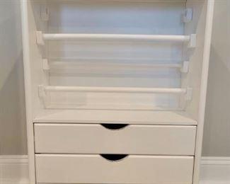 """Item 224:  Gift/Craft Cabinet - 20""""l x 14""""w x 33.25"""":  $150"""