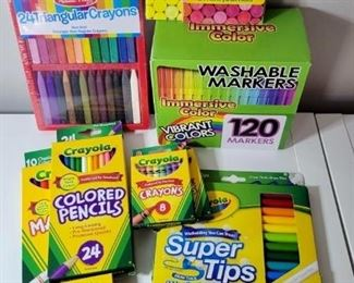 A large variety of new art supplies!  Make an appointment for April 16th, 17th or 18th today!