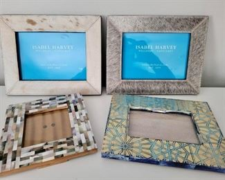 Item 233:  (4) Frames with one Mother of Pearl:  $32