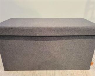 """Item 235:  (2) Storage Benches by """"Poppin"""" - 31.5""""l x 16""""w x 16""""h:  $46 ea"""