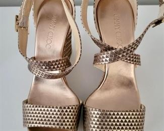 Item 212:  Jimmy Choo Sandals (size 39):  $345