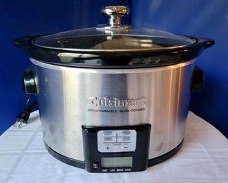 Item 247:  Cuisinart Slow Cooker:  $36