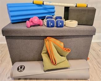 Yoga mats, yoga blocks, foam rollers & more!  Make an appointment today.  Link in the details & description section!