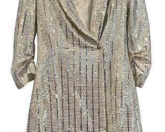 Item 199:  Zara Sequin Coat:  $85