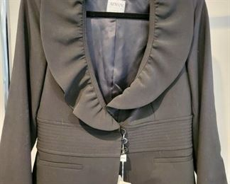 Item 200:  Armani Coat (size 6 - new with tags!):  $95