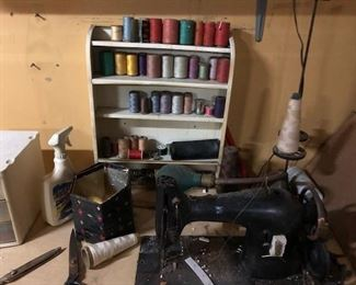 INDUSTRIAL SINGER SEWING MACHINES AND SUPPLIES