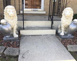 Stone Lion By Hand Studio Inc, Palatine IL