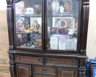 Like new display cabinet from the Florence Collection. $1899 price tag still in the drawer.