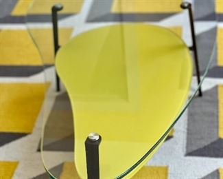 Coma Side Table/Yellow