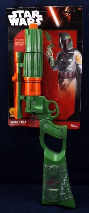 Boba Fett Signed Blaster