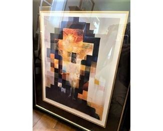 One of 200 Numbered Dali Lithographs