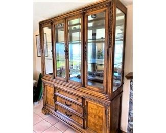 Wonderful China Cabinet for an Amazing Deal $$ Bring moving help!