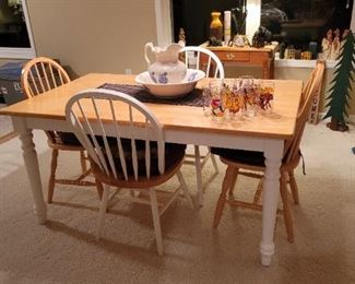 Cute Kitchen Table with 5 Chairs