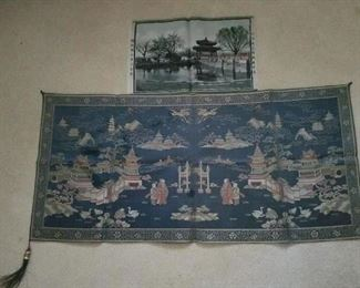 Larger silk textile has been sold.