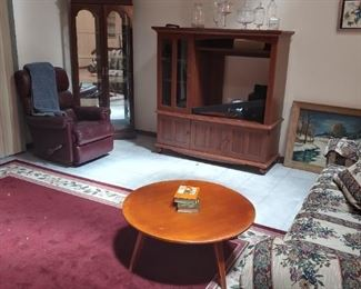 MCM Round Coffee Table -