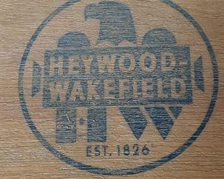 Mid-Century Modern Heywood-Wakefield dining room set