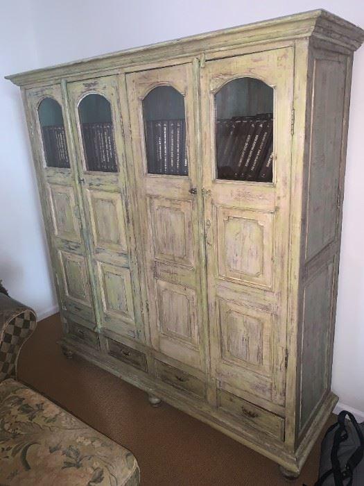 Unique Storage Bookcase Cabinet