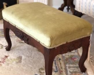 Upholstered bench or ottoman