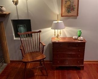 Dining Room  Stickley chair & chest