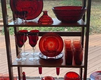 Kitchen  Ruby glassware
