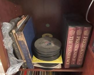 OLD RECORDS AND BOOKS