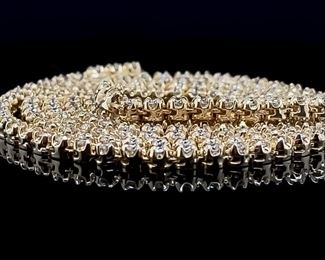 7+ Carat Diamond Necklace