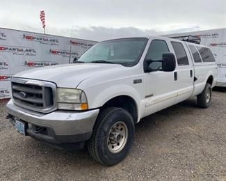 2003 Ford F-250 Year: 2003 Make: Ford Model: F-250 Vehicle Type: Pickup Truck Mileage: 187421 Plate: 710GAD (oregon) Body Type: 4 Door Cab; Crew Trim Level: XL; XLT; Lariat Drive Line: 4WD Engine Type: V8, 6.0L; Turbo Fuel Type: Diesel Horsepower: Transmission: VIN #: 1FTNW21P13EC67506 Doc Fee $70 DMV Registration Fee: Weight Certificate:  $45  Features and Notes: