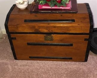 Lovely trunk for storing all your goodies