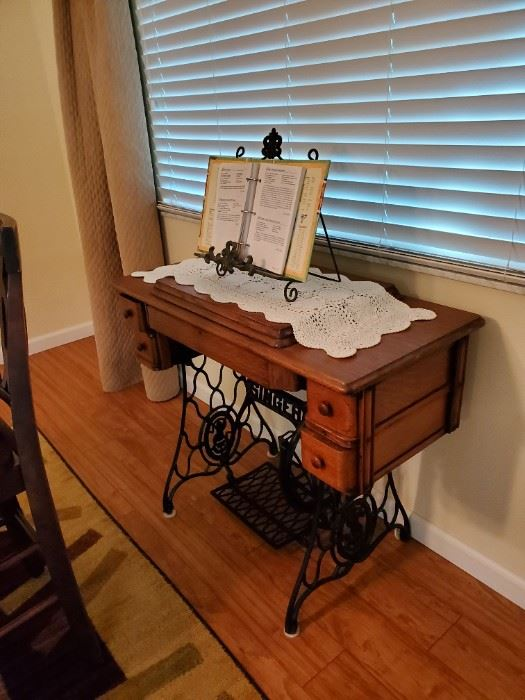 sewing table again