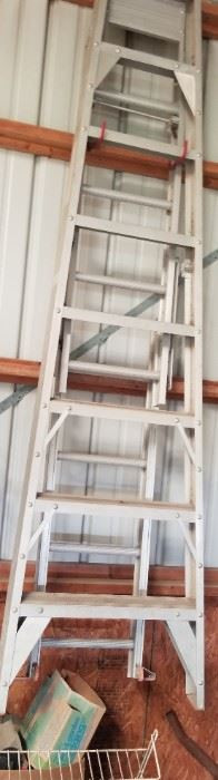 one of several ladders