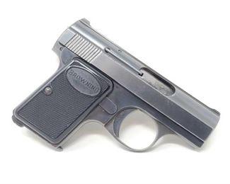 "400 Browning 6mm Semi-Auto Pistol Serial Number: 449855 Barrel Length: 2"""