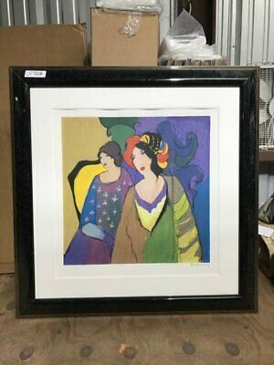 CF7006Bhttps://www.ebay.com/itm/114766581639CF7006B Itzchak Tarkay TWO WOMEN WITH VIBRANT HAIRPIECES (34 1/4 X 34 1/4 IN)Auction