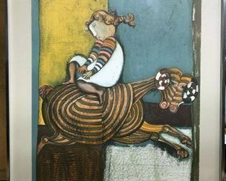 https://www.ebay.com/itm/124688439581CF7005 B Graciela Rodo Boulanger GIRL ON RAM (28 1/8 X 36 3/16 IN)Auction