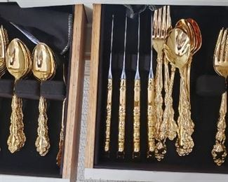 goldplate flatware set