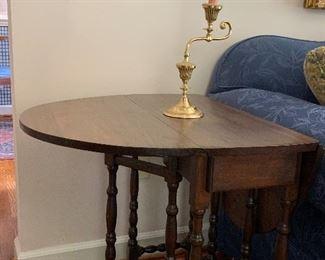 Small gateleg side table
