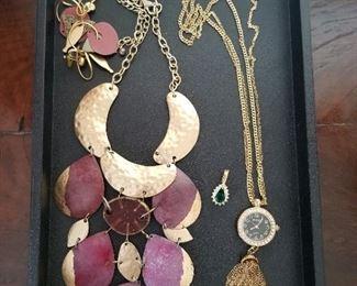 Costume jewelry including Chico's